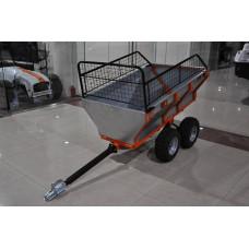 Прицеп для квадроцикла ALFeco ATV 400 с бортами