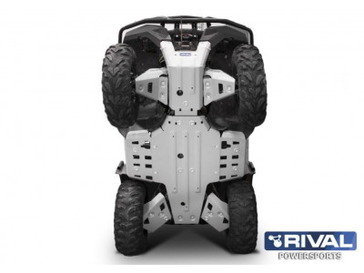ATV Yamaha Grizzly 700 Комплект защит днища (5 частей) (2015-)
