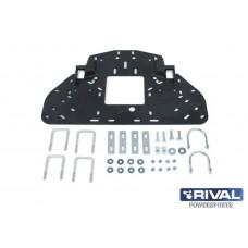 Snow blade UTV mounting pad with fiting kit (Polaris, Honda)