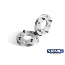 Wheel spacers 4*110, DIA67, 25mm, kit 2 pcs