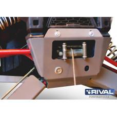 Комплект крепления лебедки UTV Polaris RZR 1000 (2 части) (2013-)