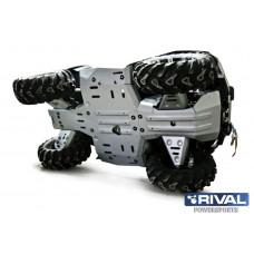 ATV CF MOTO X5 H.O.(2015-), X6 (2019-) Комплект защит днища (5 частей) (2015-)