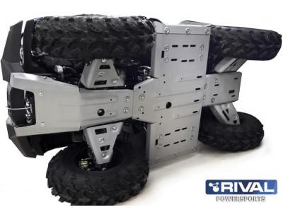 ATV Stels Leopard 600 защита днища (6 частей), 2014-