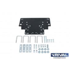 Snow blade UTV mounting pad with fiting kit (BRP, Yamaha, Kawasaki)