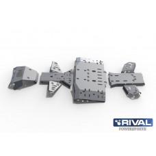 Комплект AL защиты днища  CF MOTO X8 (2012-)