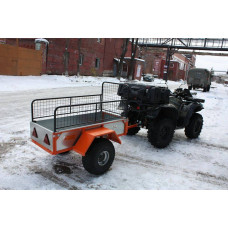 Прицеп для квадроцикла ALFeco ATV 300 без бортов