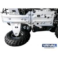 Комплект защит днища Irbis ATV 150 (3 части) + комплект крепежа