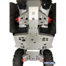 Комплект защит днища ATV Honda TRX420/500 IRS (5 частей) (2015-)