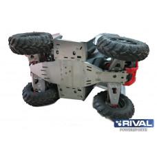 ATV Polaris Scrambler 1000 Защита днища (6 частей), 2013-